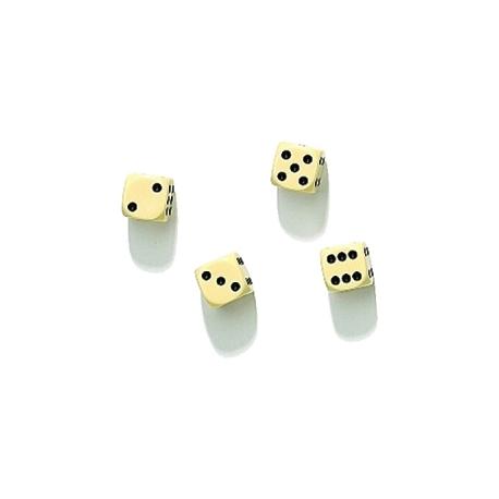 Baltas kauliukas, 16 mm