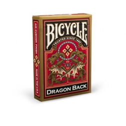 Bicycle kortos: Gold Dragon Back