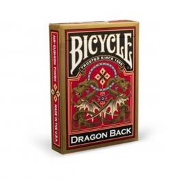 Bicycle kortos: Gold Dragon Back