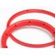 HEAVY DUTY WHEEL BEAD LOCK RINGS (RED/for 2 Wheels)