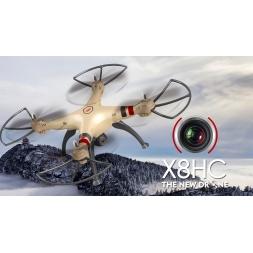 Dronas SYMA X8HC 2MP kamera