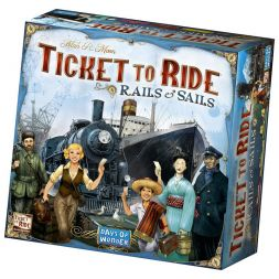 Ticket to Ride: Sliedēm un Burām (Rails & Sails)