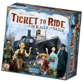 Ticket to Ride: Geležinkeliai ir Jūros (Rails & Sails)