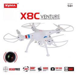 Dronas SYMA X8C su kamera