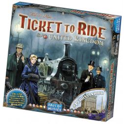 Ticket to Ride papildymas: United Kingdom & Pennsylvania