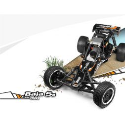 HPI RTR Baja 5B 2.0 Pre-Assembled 1/5th scale 2WD buggy
