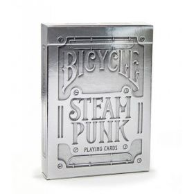 Bicycle Silver Steampunk kortos