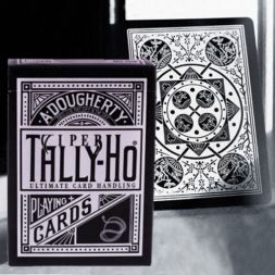 Ellusionist Tally Ho Viper Fan Black Bicycle kortos