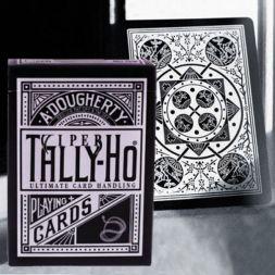 Ellusionist Tally Ho Viper Fan Black Bicycle kortos