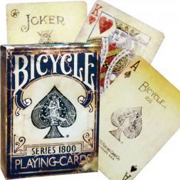 Ellusionist 1800 Vintage Blue Bicycle kortos