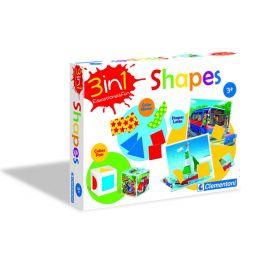 Shapes 3in1 LV, LT, RU stalo žaidimas