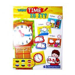 Žaidimas: pažinkime laikrodį