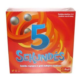 5 SEKUNDĖS