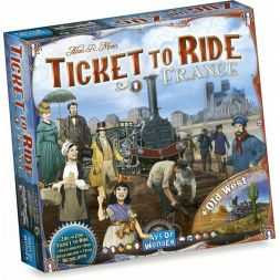 Ticket To Ride: France Map 6