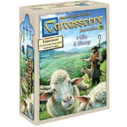 Carcassonne Exp. 9. Hills & Sheep