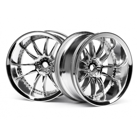 WORK XSA 02C WHEEL 26mm CHROME (9mm OFFSET)