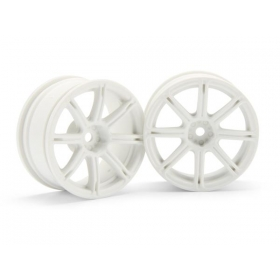 WORK EMOTION XC8 WHEEL 26mm WHITE (3mm OFFSET)