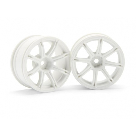 WORK EMOTION XC8 WHEEL 26mm WHITE (6mm OFFSET)