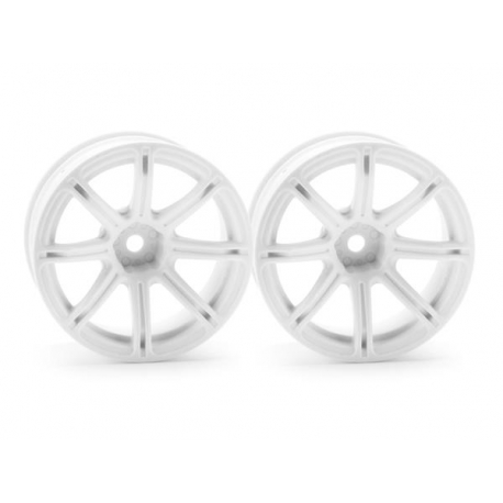 WORK EMOTION XC8 WHEEL 26mm WHITE (9mm OFFSET)