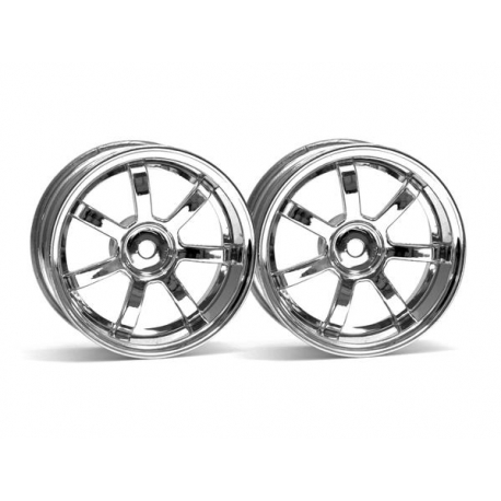 RAYS GRAM LIGHTS 57S-PRO WHEEL CHROME (6mm OFFSET)