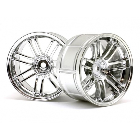 LP32 WHEEL RAYS VOLK RACING RE30 CHROME (2pcs)