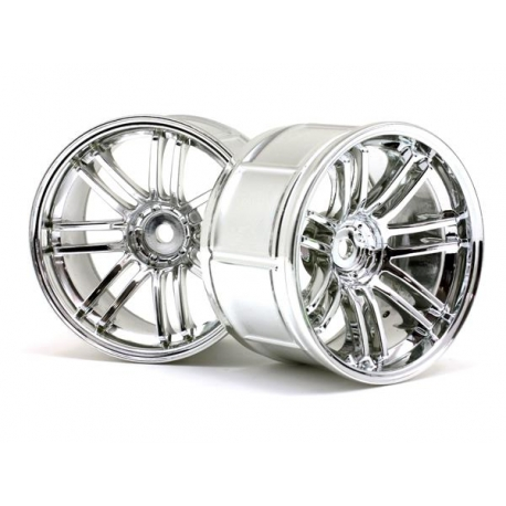 LP35 WHEEL RAYS VOLK RACING RE30 CHROME (2pcs)