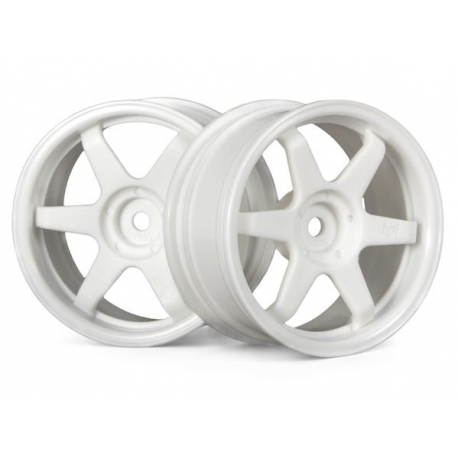 TE37 WHEEL 26mm WHITE (3mm OFFSET)