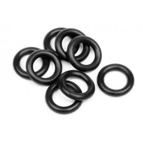 O-RING 6x9.5x2mm (BLACK/8pcs)