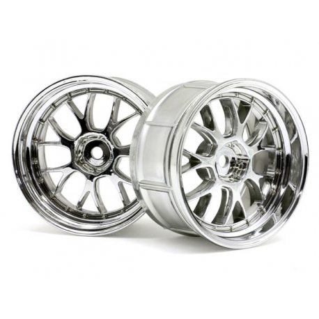LP32 LM-R WHEEL CHROME (2pcs)