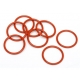 O-RING S15 (15x1.5mm/ORANGE/8pcs)
