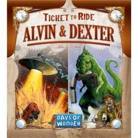 Ticket to Ride papildymas: Alvin & Dexter