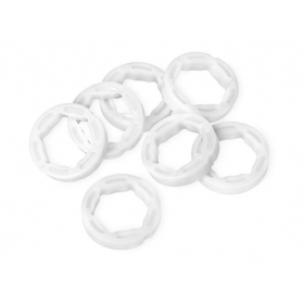 PLASTIC BUSHING 12x18x4mm (7pcs)