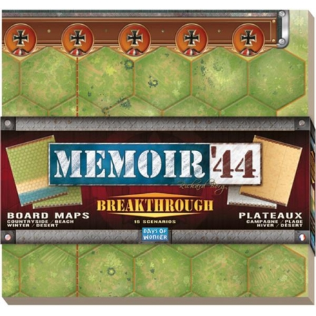Memoir '44 papildymas: Breakthrough Kit