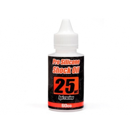 PRO SILICONE SHOCK OIL 25 WEIGHT (60cc)