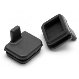 RUBBER CAP 10x11mm (BLACK)
