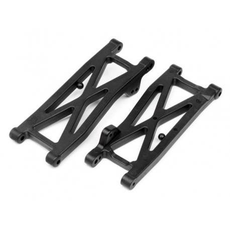 GRAPHITE REAR SUSPENSION ARM SET (FIRESTORM)