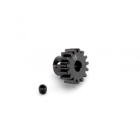 PINION GEAR 15 TOOTH (1M / 5mm SHAFT)