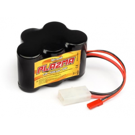 PLAZMA 6.0V 4300mAh Ni-MH Battery Pack 25.8Wh