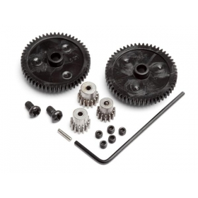 SPUR GEAR SET (2pcs)/PINION GEAR SET (3pcs)
