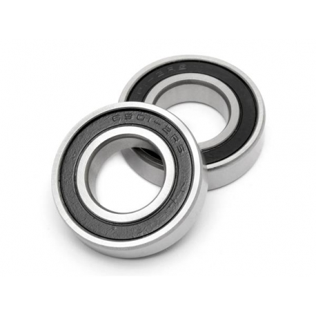 BALL BEARING 12x24x6mm (2pcs)