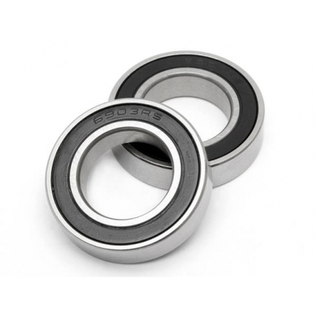 BALL BEARING 17x30x7mm (2pcs)