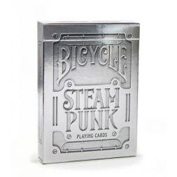Bicycle Silver Steampunk kortos