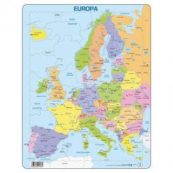 """Dėlionė """"Europos žemėlapis"""""""