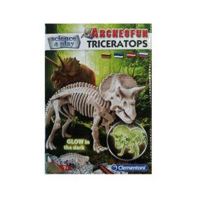 Rinkinys: Triceraptorių archeologija