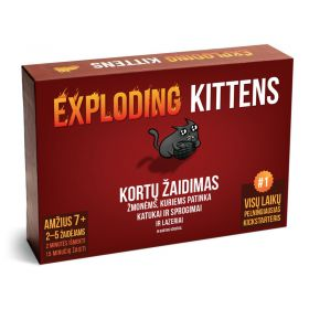 Exploding Kittens (lietuvių-anglų kalba)