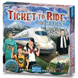 Ticket To Ride: Japan & Italy Map 7