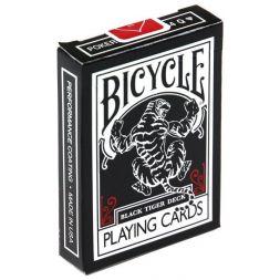 Bicycle kortos Black Tiger Red