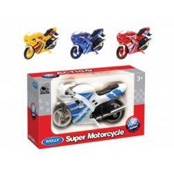 Welly super motociklas, 12cm