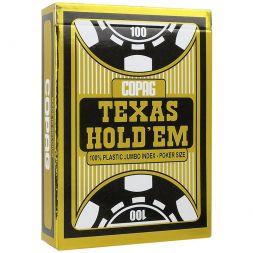 Copag kortos Texas Holdem Black