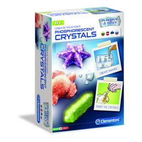 Mokslinis rinkinys: Fluo kristalai